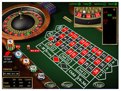 Rushmore Casino game screenshot american roulette