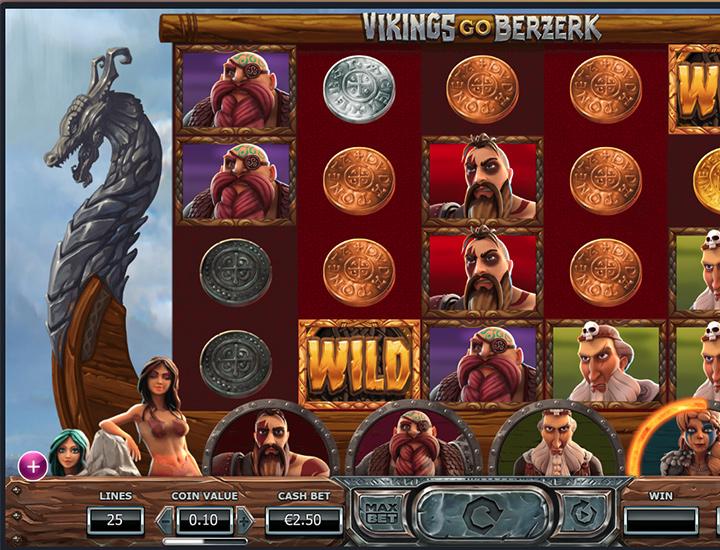 Online slot machine - Vikings Go Birzerk