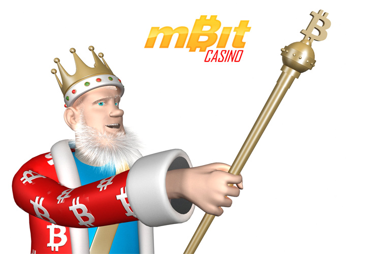 The Bitcoin King is presenting the mBitCasino - one of the best online casinos accepting cryptocurrencies as deposit method.