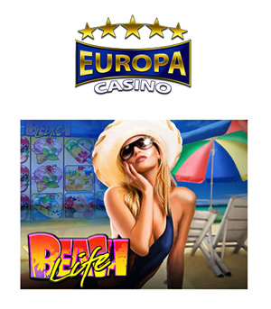 Beach Life Progressive at Europa Casino - Click to Play