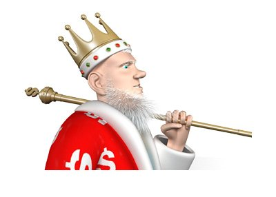 The King is offering advice on how to best play and enjoy the game of roulette.  The topic is the Martingale System.