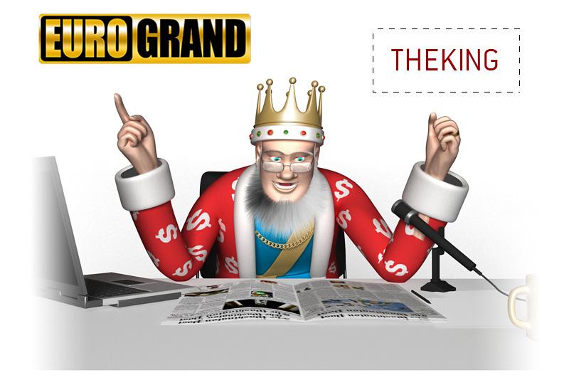 The King presents the latest Eurogrand Casino bonus code. Use coupon code THEKING