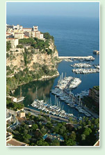 city of monte carlo - birds eye view