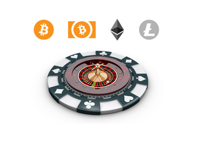 Online casinos accepting cryptocurrencies such as Bitcoin, BCH (Bitcoin Cash), Litecoin and Etherium.  Place your bets.