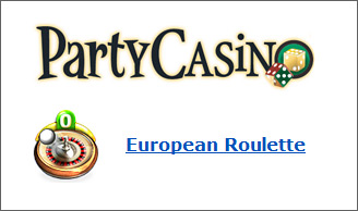 European Roulette at Party Casino