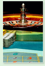 image of a roulette table and casino chips - wynn casino
