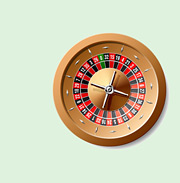 Roulette Wheel - Vector graphic in jpg format