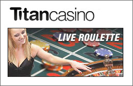 Live Roulette at Titan Casino promotion