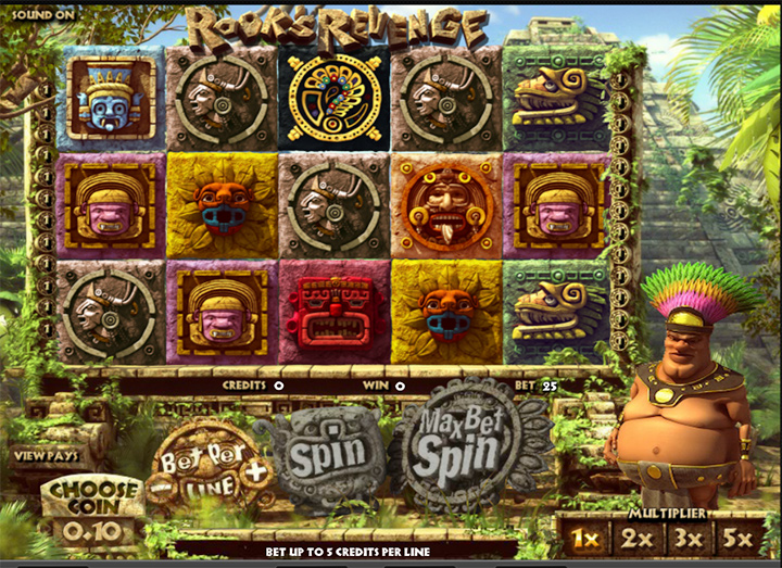 Guts casino software screenshot.