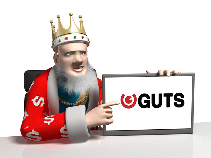 The Roulette King is reviewing the Guts.com online casino.  Get all the details here.