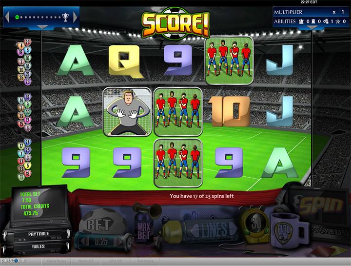 Score - Game screenshot.
